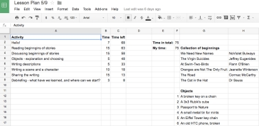 Any excuse to make a spreadsheet.
